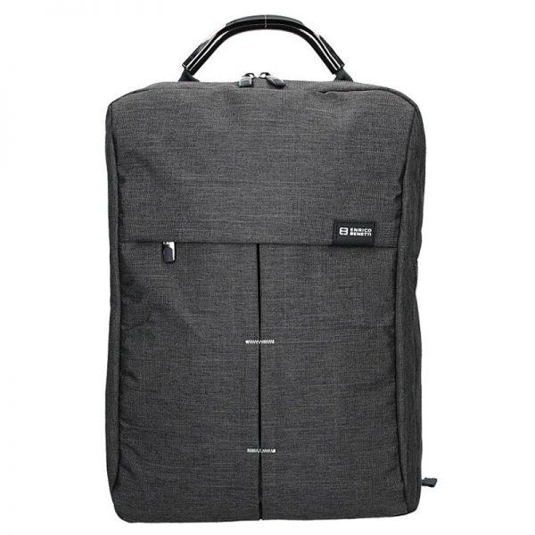 Pánský batoh Enrico Benetti Boldn – šedo-černá