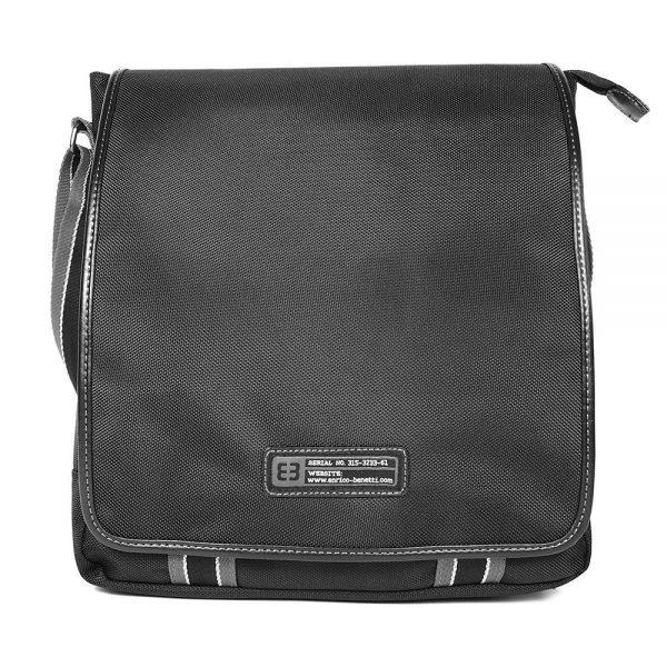 Pánská taška přes rameno Enrico Benetti Sherman – černá