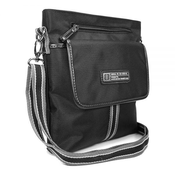 Pánská taška přes ramno Enrico Benetti Blaize – černá