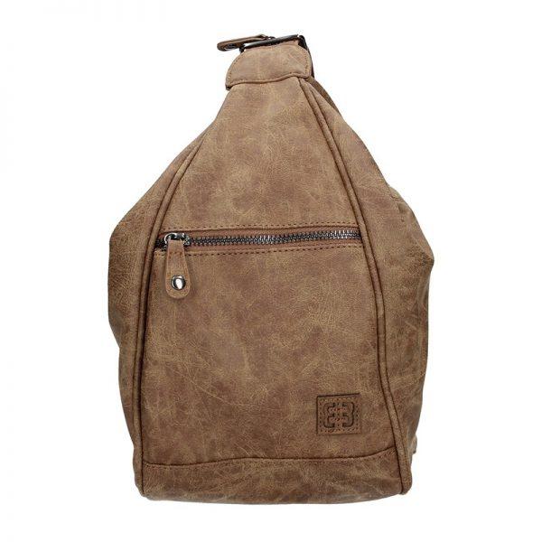 Moderní dámský batoh Enrico Benetti 66250 – hnědá