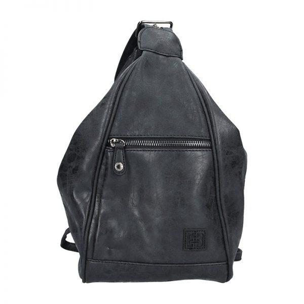 Moderní dámský batoh Enrico Benetti 66250 – černá