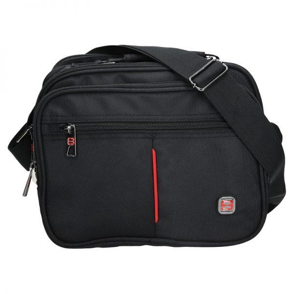 Pánská taška přes rameno Enrico Benetti Boston – černá