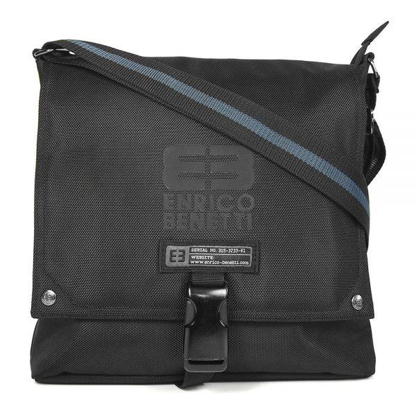 Pánská taška přes rameno Enrico Benetti Rodger – černá
