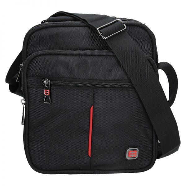 Pánská taška přes rameno Enrico Benetti London – černá
