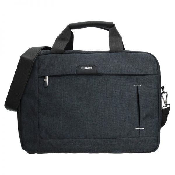 Pánská taška přes rameno Enrico Benetti Paul – černá