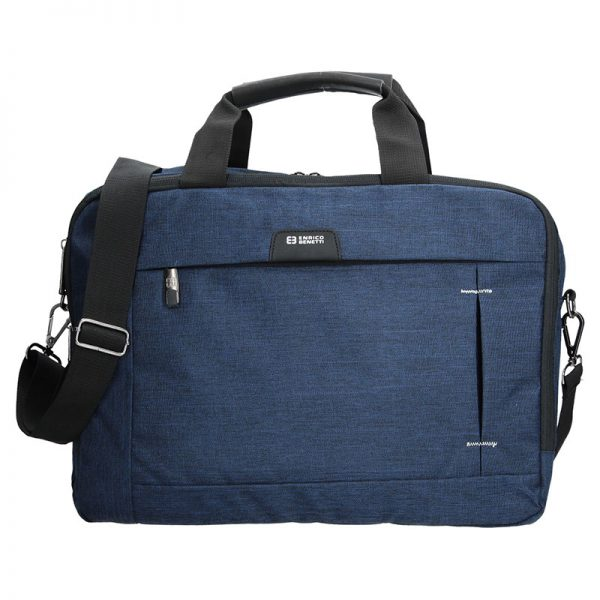 Pánská taška přes rameno Enrico Benetti Paul – modrá