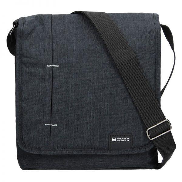 Pánská taška přes rameno Enrico Benetti Eric – černá