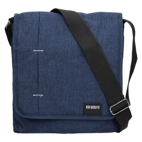 Pánská taška přes rameno Enrico Benetti Eric – modrá