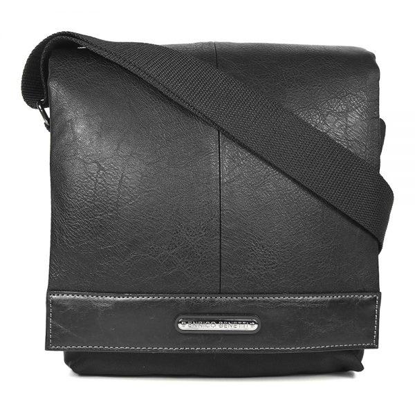 Pánská taška přes rameno Enrico Benetti Francis – černá