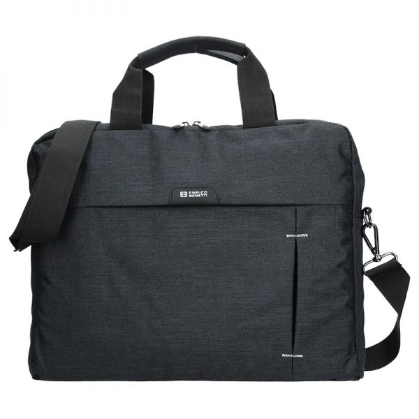 Pánská taška přes rameno Enrico Benetti Oktavius – černá