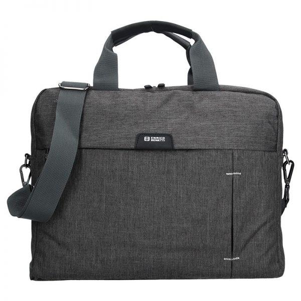 Pánská taška přes rameno Enrico Benetti Oktavius – šedá
