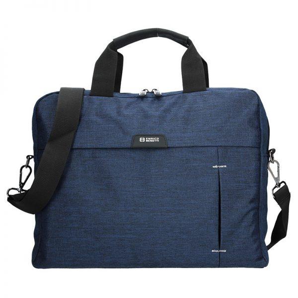 Pánská taška přes rameno Enrico Benetti Oktavius – modrá