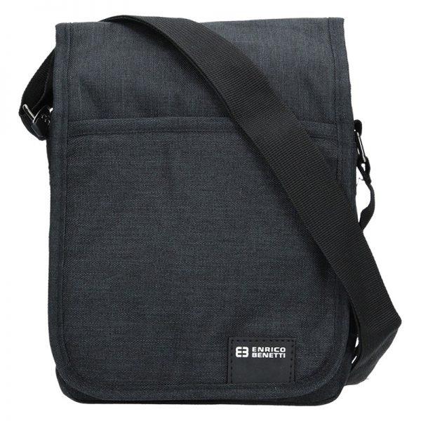 Pánská taška na doklady Enrico Benetti Niels – černá