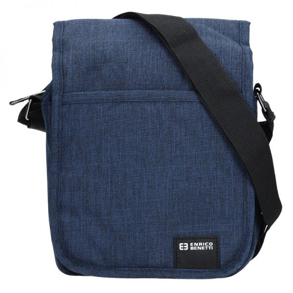 Pánská taška na doklady Enrico Benetti Niels – modrá