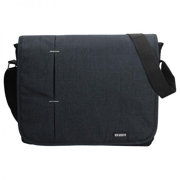 Pánská taška přes rameno Enrico Benetti Monter – černá