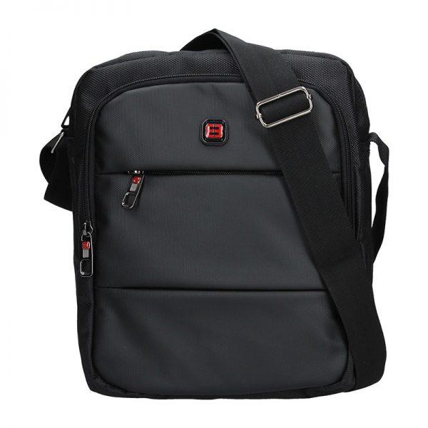Pánská taška přes rameno Enrico Benetti Ferenc – černá