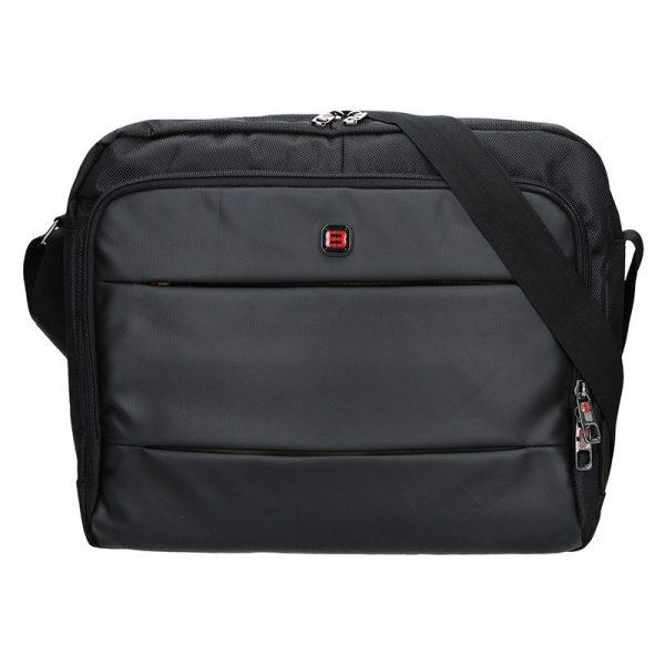 Pánská taška přes rameno Enrico Benetti Gustav – černá