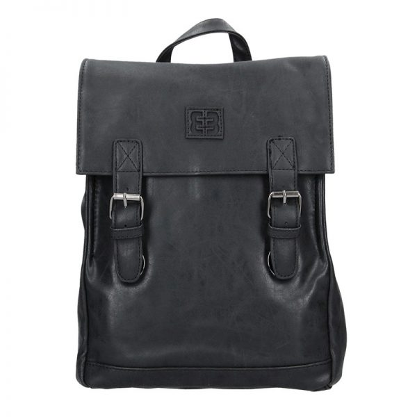 Moderní dámský batoh Enrico Benetti Vilma – černo-šedá