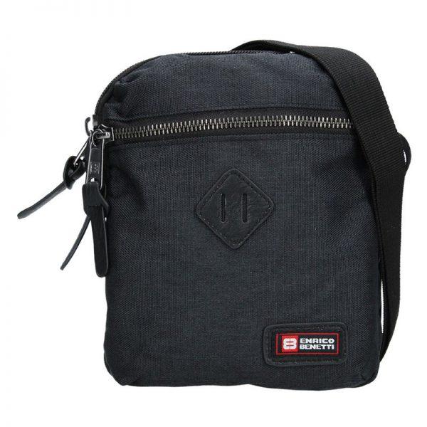 Pánská taška přes rameno Enrico Benetti Paolle – černá