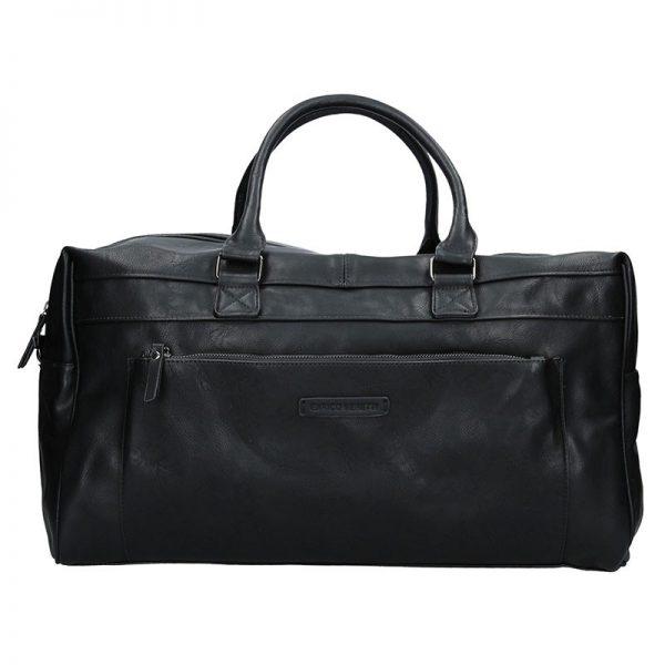 Trendy cestovní taška Enrico Benetti Travel – černá