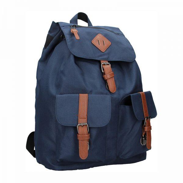 Pánský trendy batoh Enrico Benetti Juan – modrá