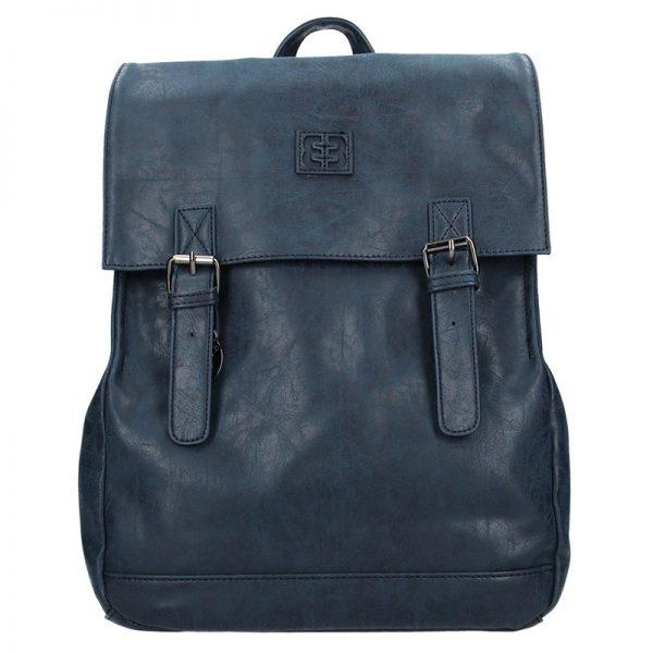Moderní batoh Enrico Benetti 66195 – tmavě modrá