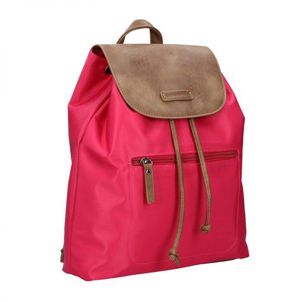 Moderní batoh Enrico Benetti Norra – růžovo-hnědá