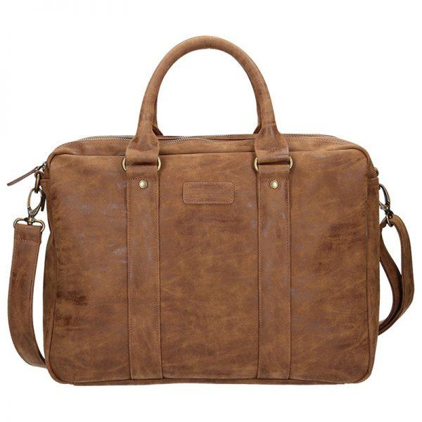 Pánská taška přes rameno Enrico Benetti Madrid – hnědá