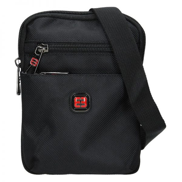 Pánská taška na doklady Enrico Benetti Heikki – černá