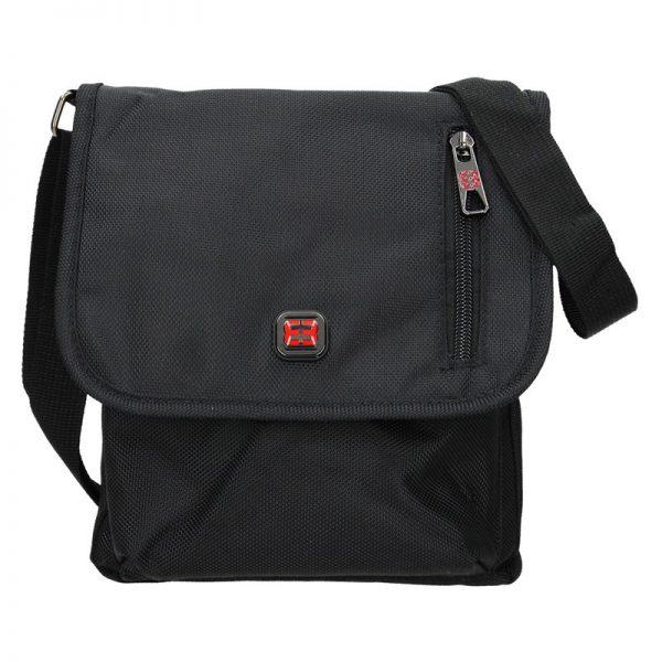 Pánská taška přes rameno Enrico Benetti Toini – černá
