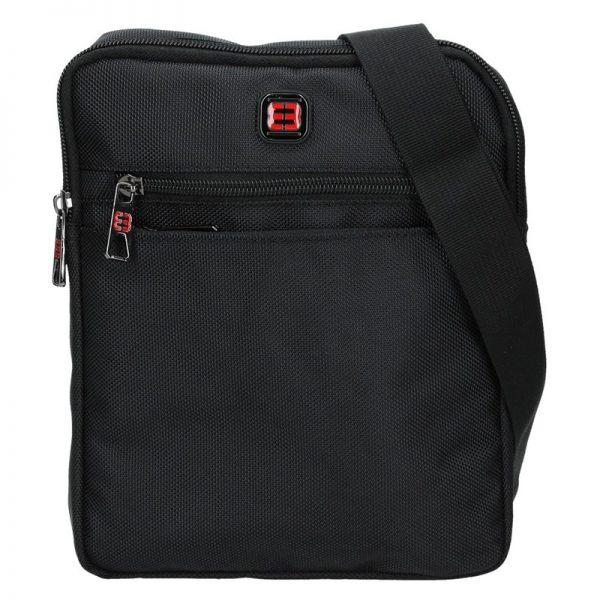 Pánská taška na doklady Enrico Benetti Anttoni – černá