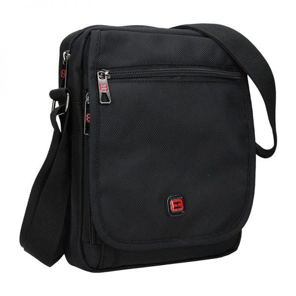 Pánská taška na doklady Enrico Benetti Kerttu – černá