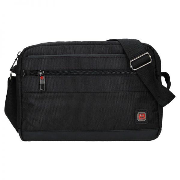 Pánská taška přes rameno Enrico Benetti Armas – černá