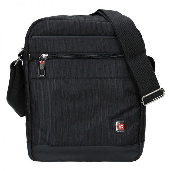 Pánská taška na doklady Enrico Benetti Joni – černá