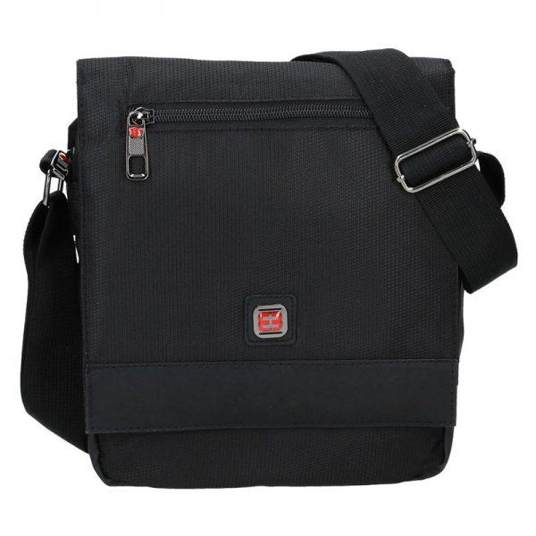 Pánská taška přes rameno Enrico Benetti Pertti – černá