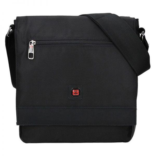 Pánská taška přes rameno Enrico Benetti Rauni – černá
