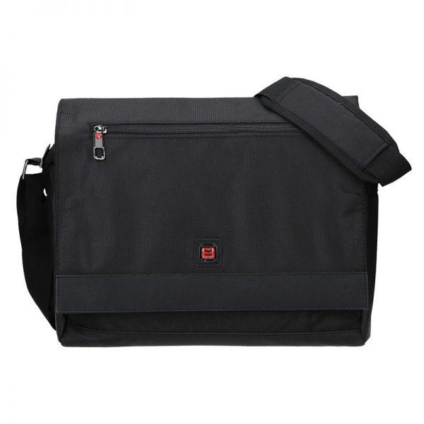 Pánská taška přes rameno Enrico Benetti Jaakko – černá