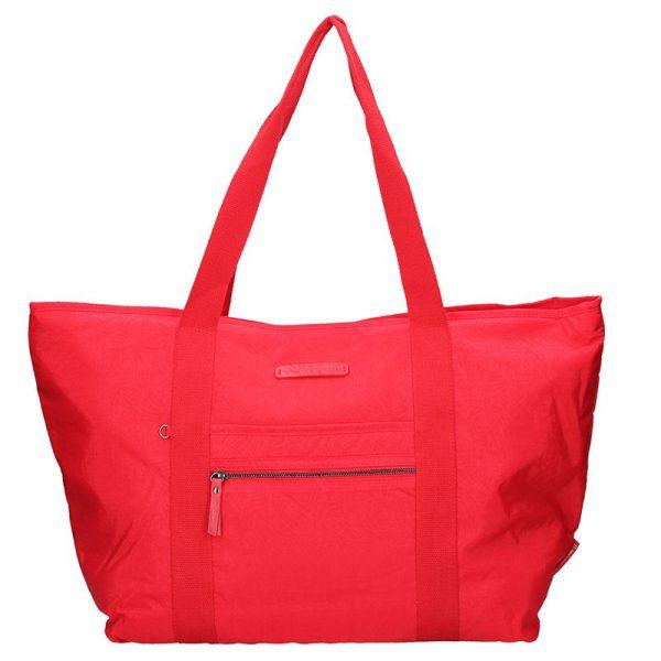 Dámská cestovní taška Enrico Benetti Jolana – červená