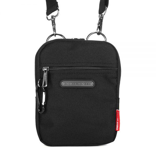 Pánská taška na doklady Enrico Benetti Ross – černá