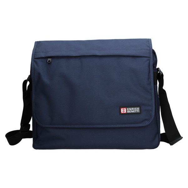 Pánská taška přes rameno Enrico Benetti Rudolf – modrá