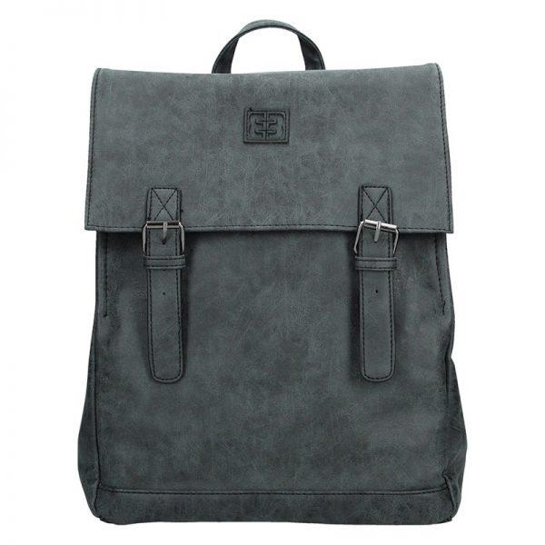 Moderní batoh Enrico Benetti 66195 – černá
