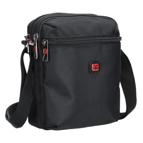 Pánská taška na doklady Enrico Benetti Cornell – černá