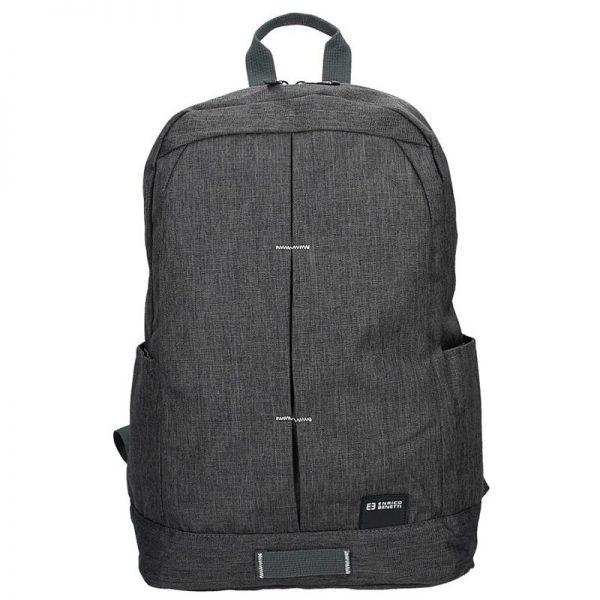 Pánský batoh Enrico Benetti Lincoln – šedo-černá
