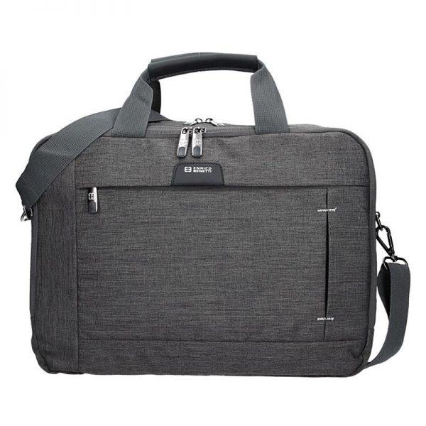 Pánská taška přes rameno Enrico Benetti Paul – šedo-černá