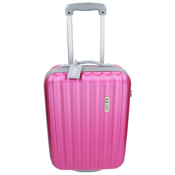 Cestovní kufr Enrico Benetti 39033/50 – růžová