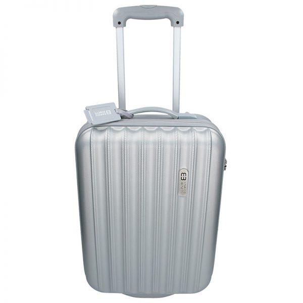 Cestovní kufr Enrico Benetti 39033/50 – stříbrná