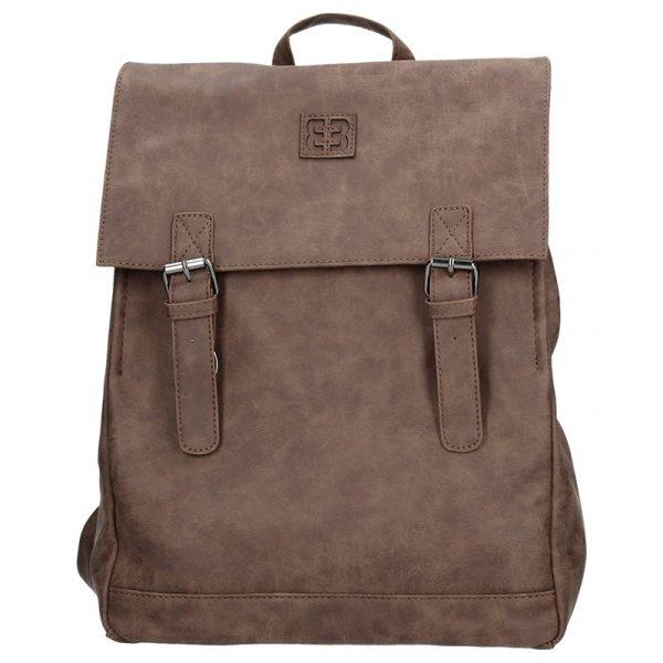 Moderní batoh Enrico Benetti 66195 – tmavě hnědá