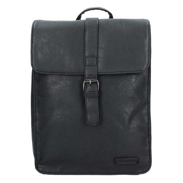 Moderní dámský batoh Enrico Benetti Silva – černá