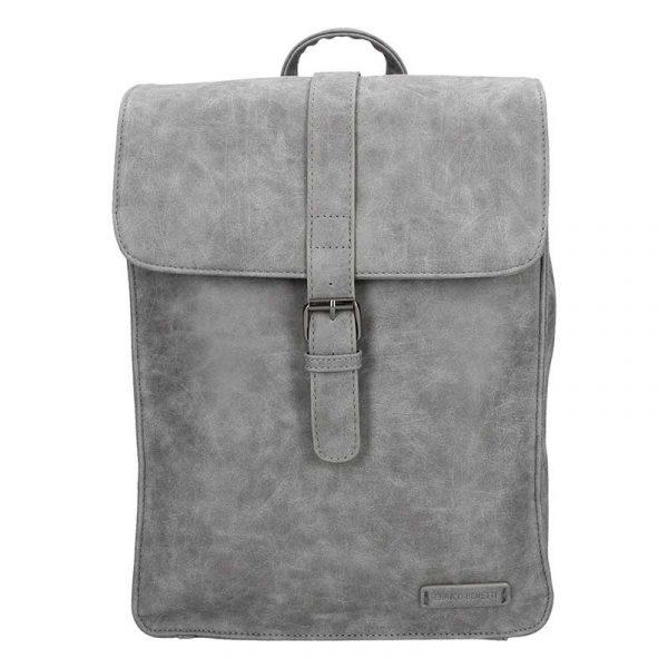 Moderní dámský batoh Enrico Benetti Silva – šedá