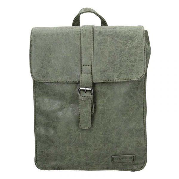 Moderní dámský batoh Enrico Benetti Silva – olivová